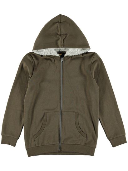 By Zip Thru Sherpa Fleece Jackets