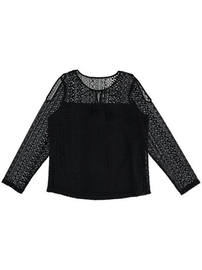 Plus Lace Cold Hsoulder Gypsy Top Womens