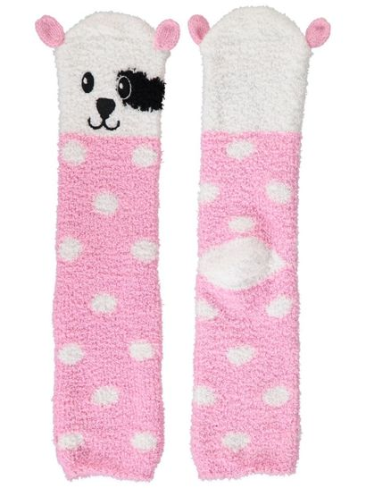 Bed Sock Marshmallow With Ears Womens