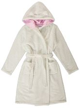 Girls Waffle Coral Fleece Gown