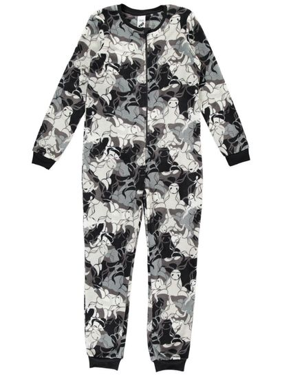 Boys Coral Fleece Onesie