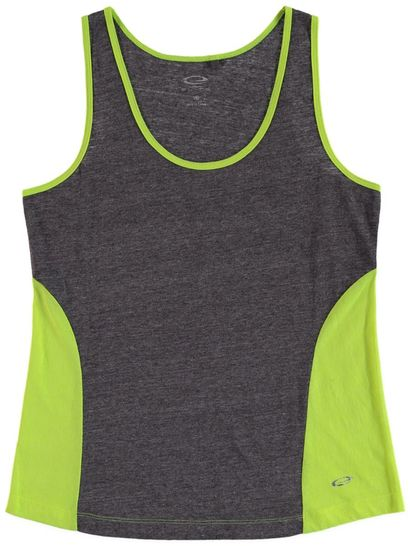 Plus Elite Colour Block Tank Womens