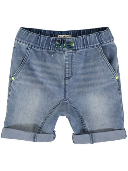 Boys Plain Denim Short