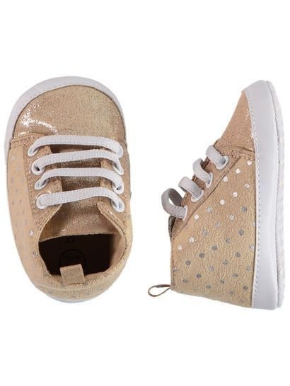 Baby Girl Spot Hi-Top Trainer