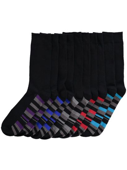 UNDERWORKS 5PK BUSINESS SOCKS