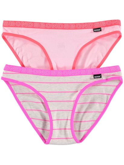 Girls 2Pk Bonds Brief