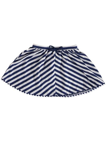 TODDLER GIRLS STRIPE KNIT SKIRT