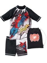 BOYS SPIDERMAN SWIMSET