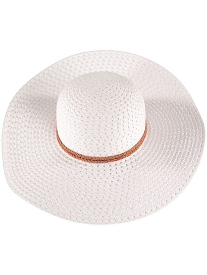 Women White Sun Hat