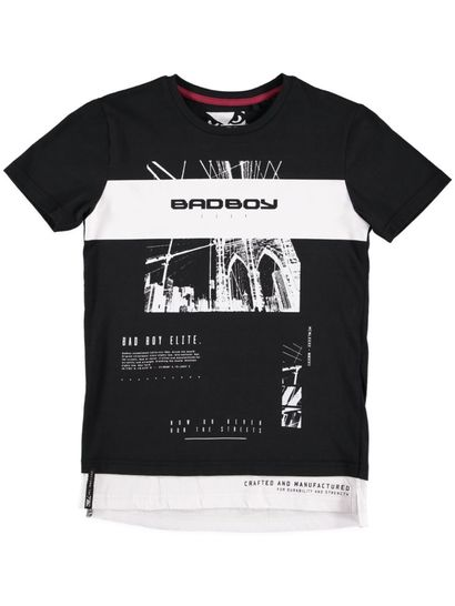 Boys Bad Boy Photo Print Tee