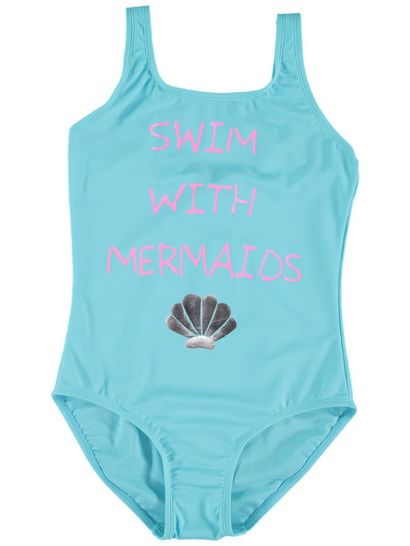 Girls Print Swimsuit