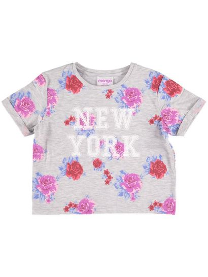 Girls Print T Shirt