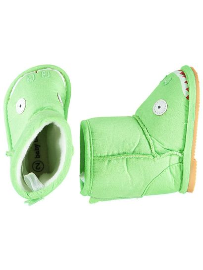 Baby Boy Dinosaur Slipper