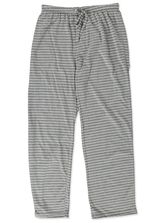 KNIT PANT WITH FUNCTIONAL TIE SLEEPWEAR