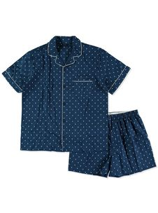 MENS SUMMER PYJAMA SETS