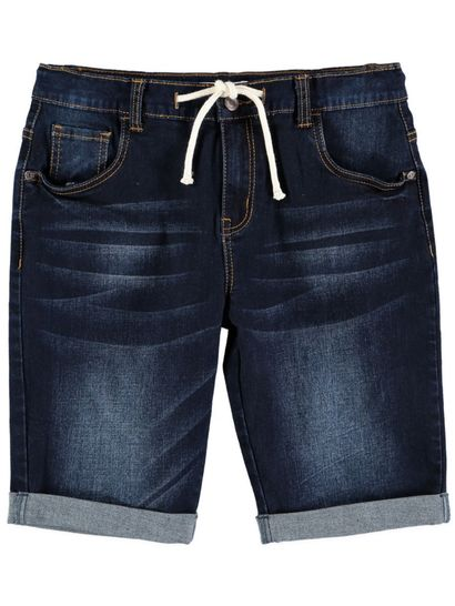 Boys Dark Indigo Denim Short