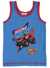 Boys Singlet - Blaze And The Monster Machines