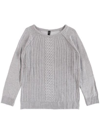 Plus Cable Pullover Womens