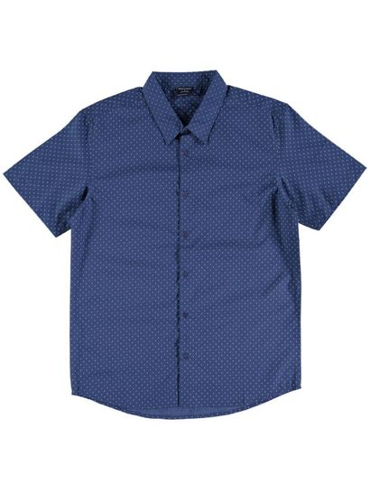 Mens Short Sleeve Printed Shirt