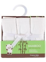Baby Bamboo Face Washer 3 Pack