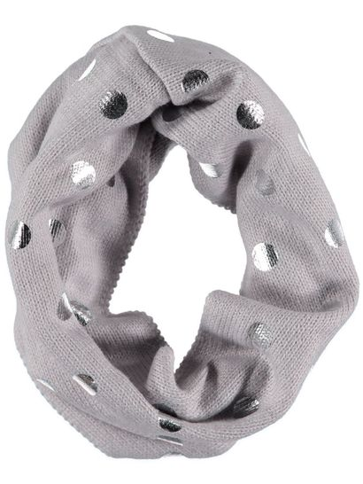 Girls Foil Spot Snood