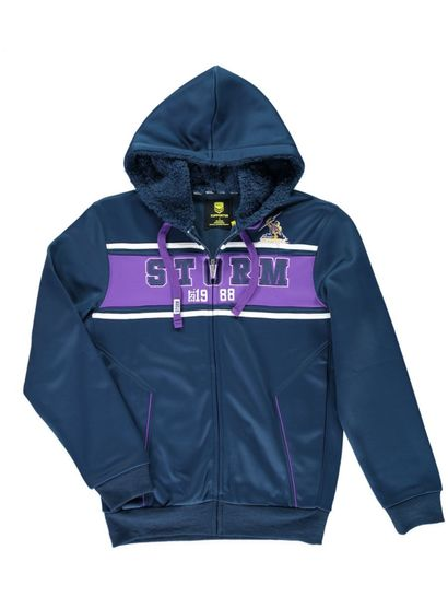 Nrl Mens Bonded Fleece Jacket