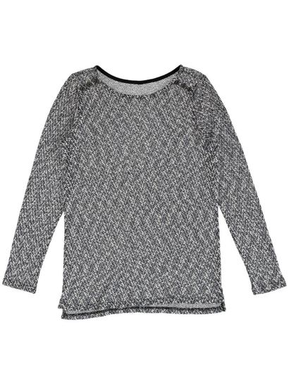 Speckle Button Pullover Womens