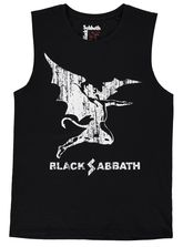 MENS BLACK SABBATH MUSCLE