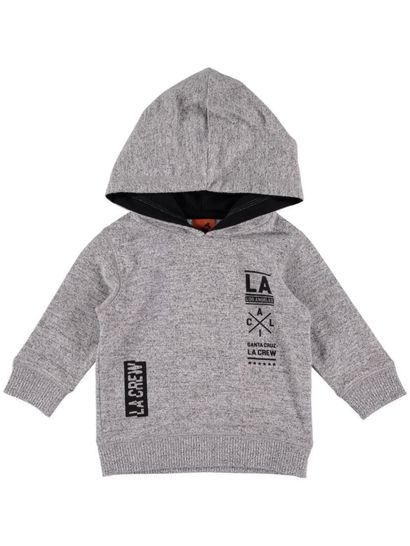 Boys Hooded Knit
