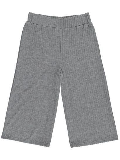 Girls Knit Culotte Pant