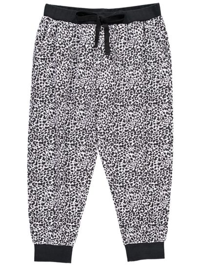 Cropped Jogger Pant Womens Plus Sleepwear