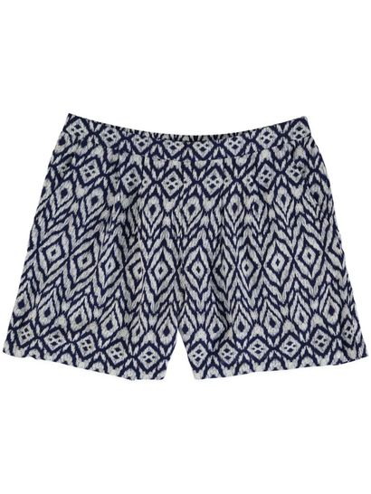 LADIES PLUS WOVEN SHORT