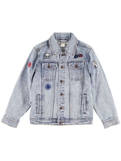 Boys Badge Denim Jacket