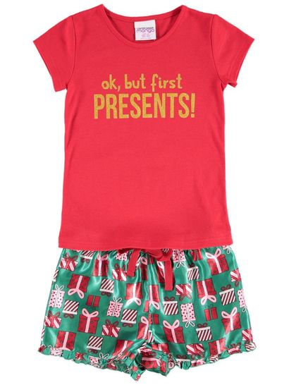 Girls Christmas Pyjama