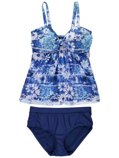 Womens Two Piece Tankini