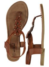 Womens Tan Sandal