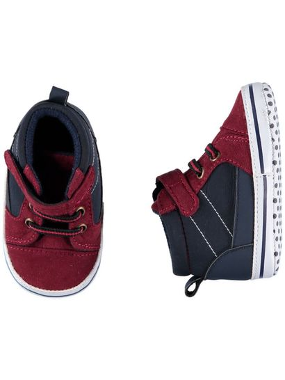 Baby Boy Maroon Trainer