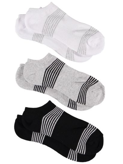 No Show 3Pk Sock Underworks Womens