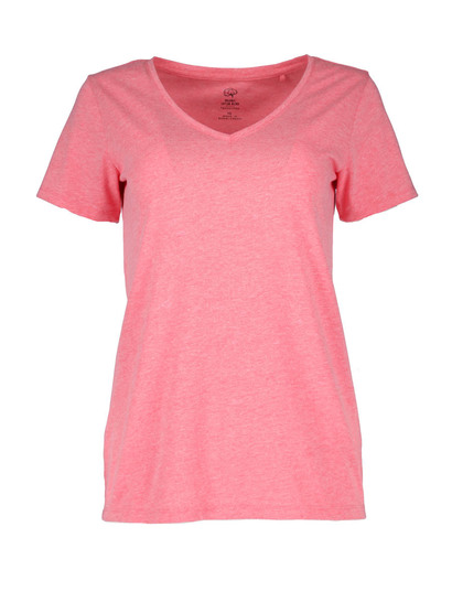 WOMENS ORGANIC COTTON BLEND SHORT SLEEVE TEE