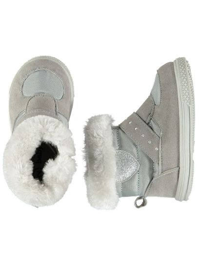 Baby Girl Hard Sole Snow Boot