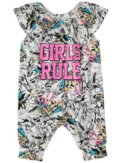 Baby Romper Dc Superhero Girls