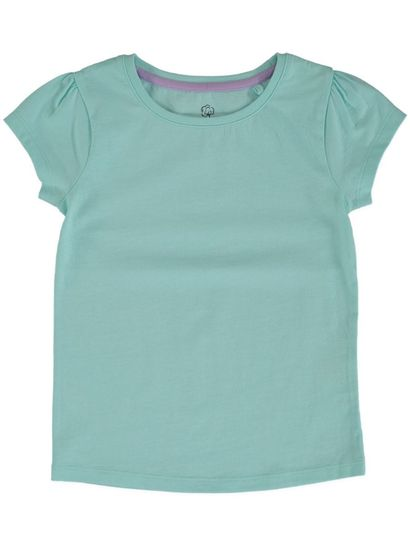TODDLER GIRLS ORGANIC COTTON SHORT SLEEVE TEE