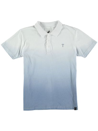 Boys Ombre Ss Polo Top