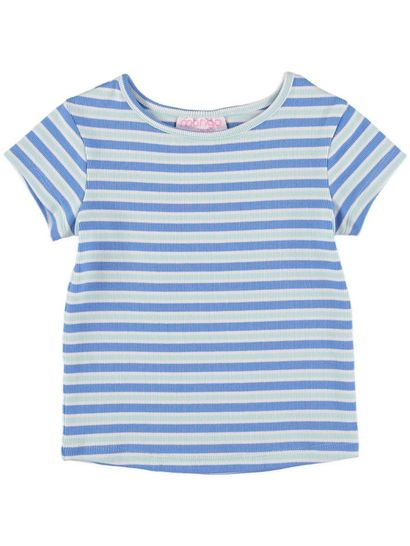 Toddler Girls Stripe Tee