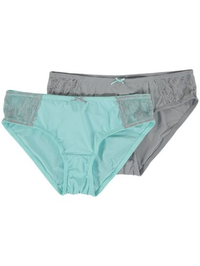 2Pk Lace Shorties