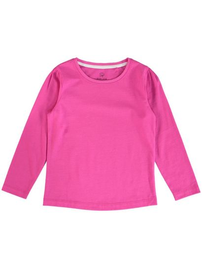 TODDLER GIRLS ORGANIC COTTON LONG SLEEVE TEE