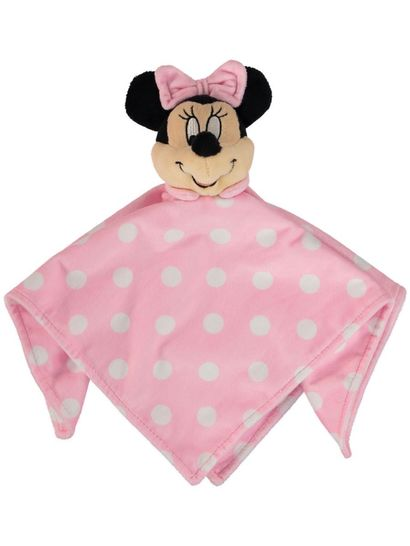 Baby Snuggle Toy Minnie Mouse