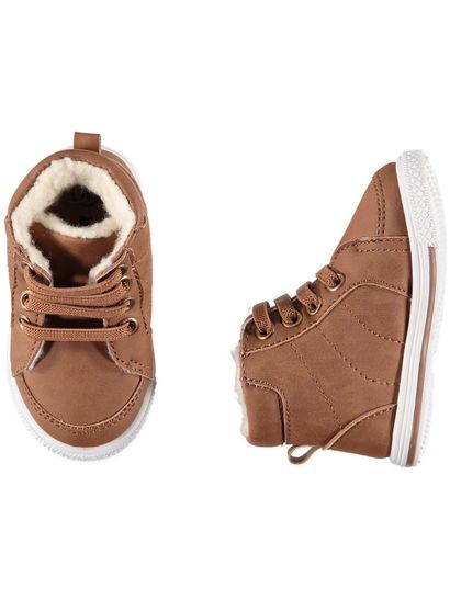 Baby Boy Brown Trainer