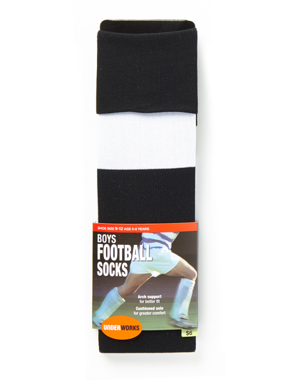 BOYS UNDERWORKS FOOTBALL SOCKS