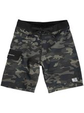 Boys Bad Boy Camo Boardshort
